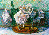 A Still Life with Roses 1917 By Jo Koster