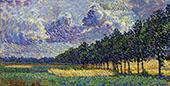 A Summer Landscape near Hattem 1915 By Jo Koster