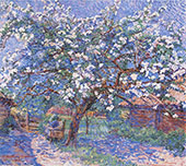 Blossoming Tree in The Garden 1916 By Jo Koster