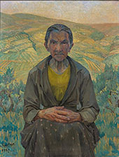 Portrait of an Old Woman By Jo Koster