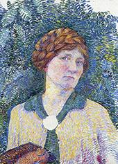 Self Portrait 1915 By Jo Koster