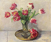 Tulips 1935 By Jo Koster
