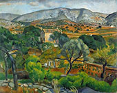 Landscape By Joaquim Sunyer