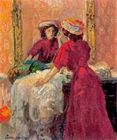 Makeup 1907 By Joaquim Sunyer