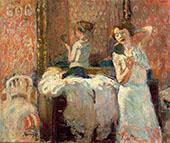 Mirrors 1905 By Joaquim Sunyer