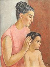 Motherhood By Joaquim Sunyer