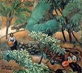 Paisaje de Ceret 1911 By Joaquim Sunyer
