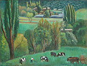 Paysage d'Andorre 1947 By Joaquim Sunyer