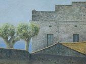 Primavera a Tiana By Joaquim Sunyer
