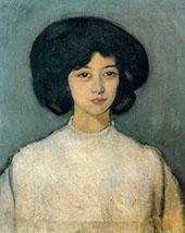 Rosa 1910 By Joaquim Sunyer