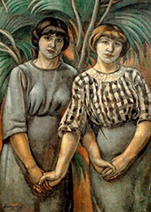 Sister Ribas By Joaquim Sunyer