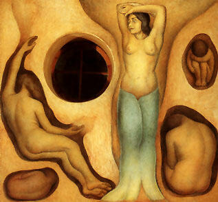 Diego Rivera - Germination 1926-1927