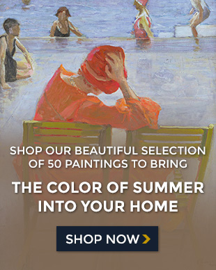 Shop our beautiful selection of 50 paintings to bring the color of summer into your home