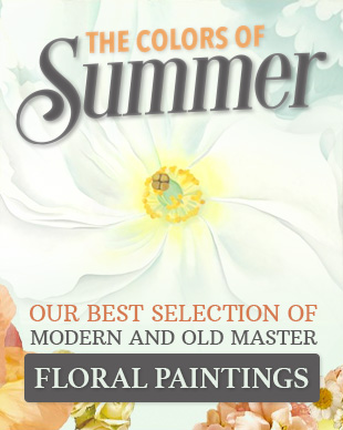 The Colors of Summer - Modern and Old Master Floral Paintings