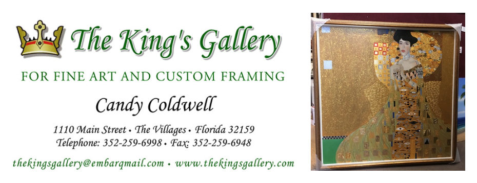 Customer Reviews and Testimonials - Candy Coldwell, The Kind's Gallery, Florida