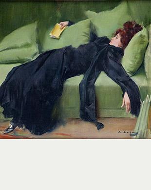 Joven Decadente 1899 - Ramon Casas