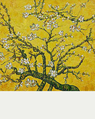 Vincent van Gogh - Branches of Almond Tree in Yellow