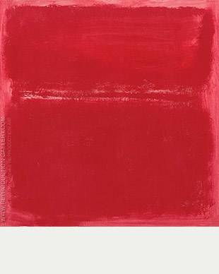 Rose Pink Divided Inspired - Mark Rothko