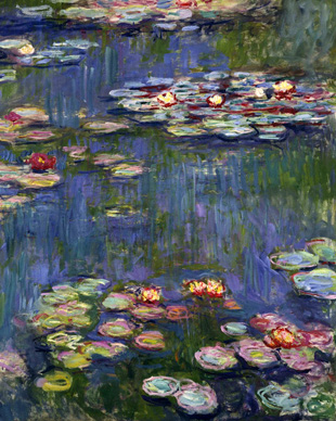 Water Lilies 1916 S By Claude Monet