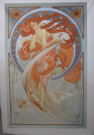 Alphonse Mucha - <a href='https://www.reproduction-gallery.com/artist/alphonse-mucha/'>More Detail</a>