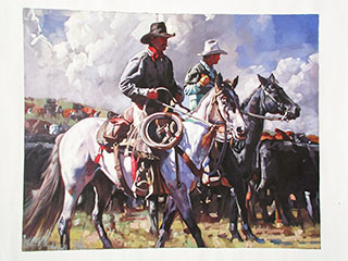 Cowboy Western - <a href='https://www.reproduction-gallery.com/art-movement/cowboy-western/'>More Detail</a>