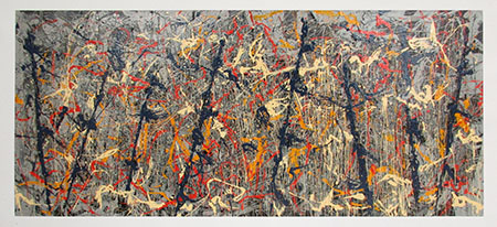 Number 11, 1952 - <a href='https://www.reproduction-gallery.com/oil-painting/1056115418/no-10-convergence-1952-by-jackson-pollock/'>More Detail</a>