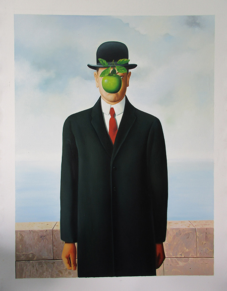 The Son of Man - <a href='https://www.reproduction-gallery.com/artist/rene-magritte/?page=1&perpage=All'>More Detail</a>