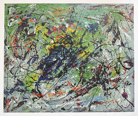 Untitled Painting - <a href='https://www.reproduction-gallery.com/artist/jackson-pollock/?page=1&perpage=All'>More Detail</a>