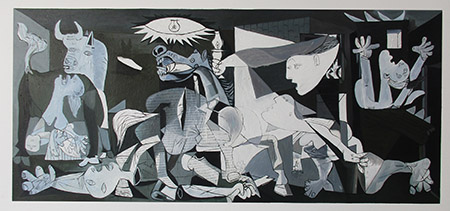 Guernica - <a href='https://www.reproduction-gallery.com/oil-painting/1452662090/guernica-by-pablo-picasso/'>More Detail</a>