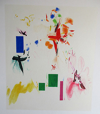 Joy Sparks of the Gods ll, 1965 - <a href='https://www.reproduction-gallery.com/oil-painting/1123562483/joy-sparks-of-the-gods-ll-1965-by-hans-hofmann/'>More Detail</a>