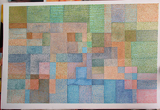 Polyphony 1932 - <a href='https://www.reproduction-gallery.com/artist/paul-klee/?page=1&perpage=All'>More Detail</a>