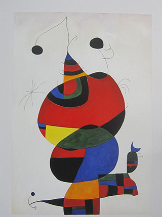 Special Commission Painting - <a href='https://www.reproduction-gallery.com/artist/joan-miro/?page=1&perpage=All'>More Detail</a>