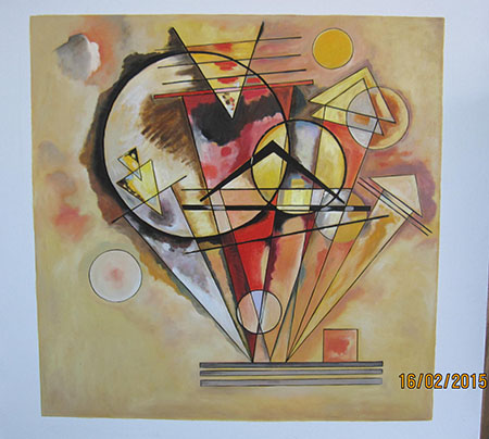 Sur les pointes - <a href='https://www.reproduction-gallery.com/oil-painting/1035626274/sur-les-pointes-by-wassily-kandinsky/'>More Detail</a>