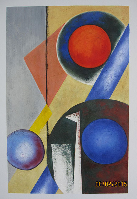 Suprematist 1918 - <a href='https://www.reproduction-gallery.com/oil-painting/1441336590/suprematist-1918-by-aleksandr-rodchenko/'>More Detail</a>