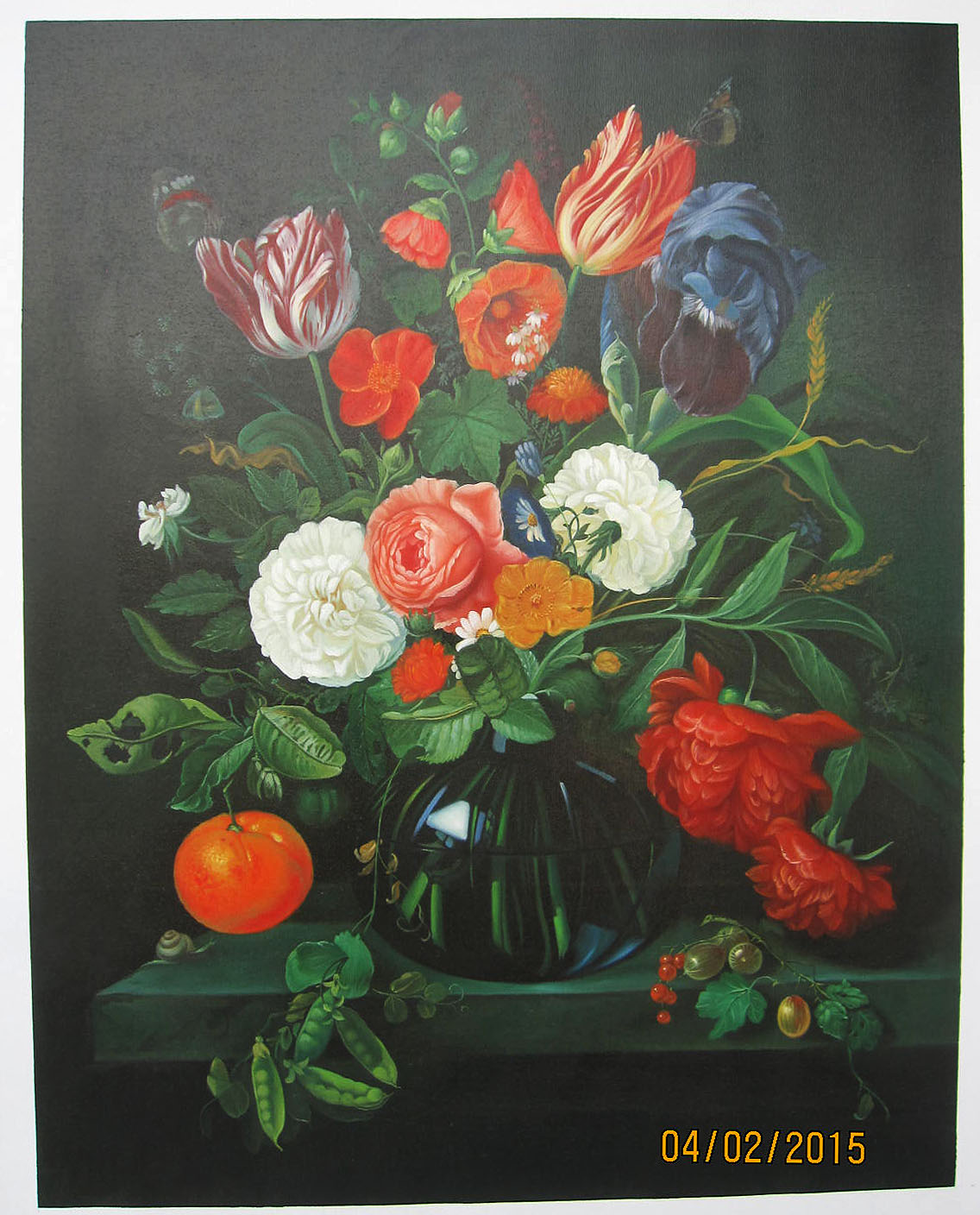 Vase with Tulips - <a href='https://www.reproduction-gallery.com/artist/abraham-mignon/?page=1&perpage=30'>More Detail</a>