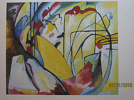 Improvisation 10 1910 - <a href='https://www.reproduction-gallery.com/oil-painting/1408530183/improvisation-10-1910-by-wassily-kandinsky/'>More Detail</a>