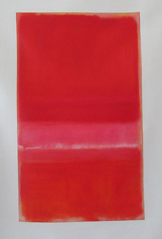 Two Pinks And Orange By Mark Rothko Inspired By - <a href='https://www.reproduction-gallery.com/oil-painting/1505439831/two-pinks-and-orange-by-mark-rothko-inspired-by/'>More Detail</a>