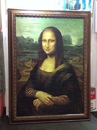 Mona Lisa By Leonardo da Vinci - <a href='https://www.reproduction-gallery.com/artist/leonardo-da-vinci/'>More Detail</a>