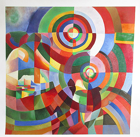 Electric Prisms 1914 - <a href='https://www.reproduction-gallery.com/oil-painting/1423463401/electric-prisms-1914-by-robert-delaunay/'>More Detail</a>