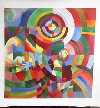 Electric Prisms 1914 By Robert Delaunay - <a href='https://www.reproduction-gallery.com/oil-painting/1423463401/electric-prisms-1914-by-robert-delaunay/'>More Detail</a>