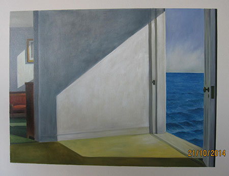 Rooms by the Sea 1951 - <a href='https://www.reproduction-gallery.com/oil-painting/1462521642/rooms-by-the-sea-1951-by-edward-hopper/'>More Detail</a>