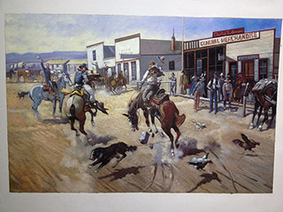 Cowboy Western - <a href='https://www.reproduction-gallery.com/art-movement/cowboy-western/'>More Detail</a>