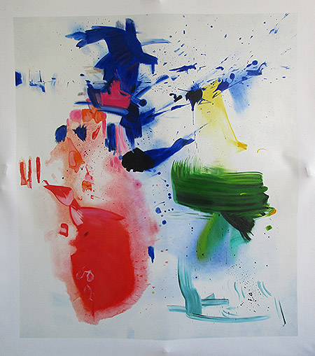 Furioso 1963 - <a href='https://www.reproduction-gallery.com/oil-painting/1184735645/furioso-1963-by-hans-hofmann/'>More Detail</a>