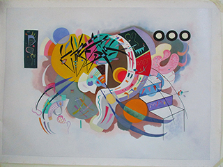 Dominant Curve 1936 By Wassily Kandinsky - <a href='https://www.reproduction-gallery.com/oil-painting/1524817505/dominant-curve-1936-by-wassily-kandinsky/'>More Detail</a>