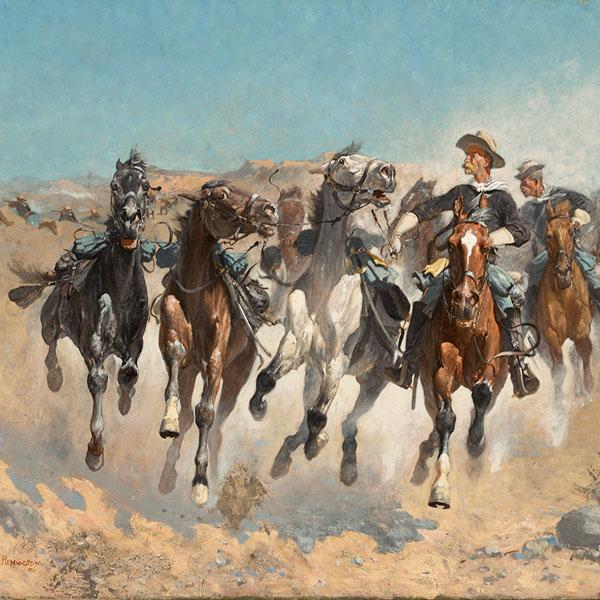 Cowboy-Western Oil Paintings