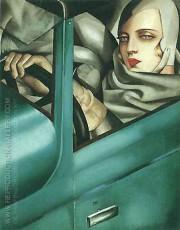 Art-Deco Oil Paintings