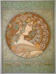 Art-Nouveau Oil Paintings